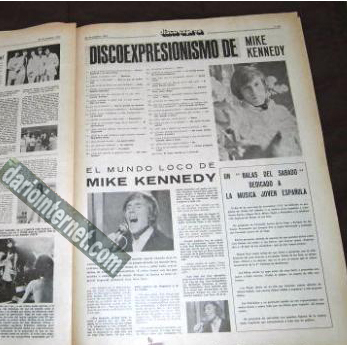1960's Magazine with Mike Kennedy