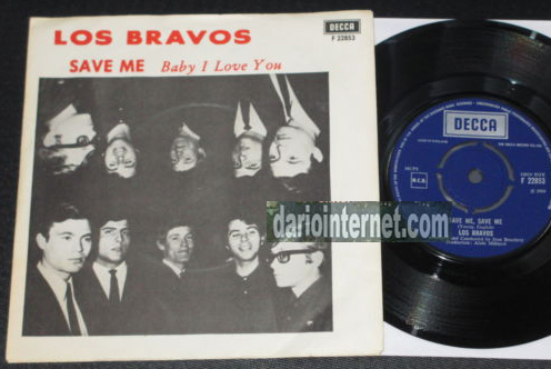 Mike Kennedy (Bravos) - Save Me UK DECCA