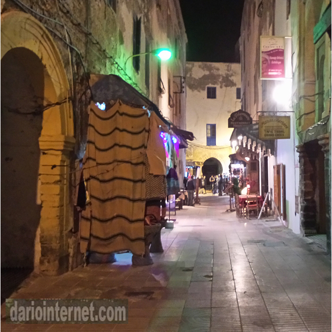 Essaouira at Night Morocco Travel Destination