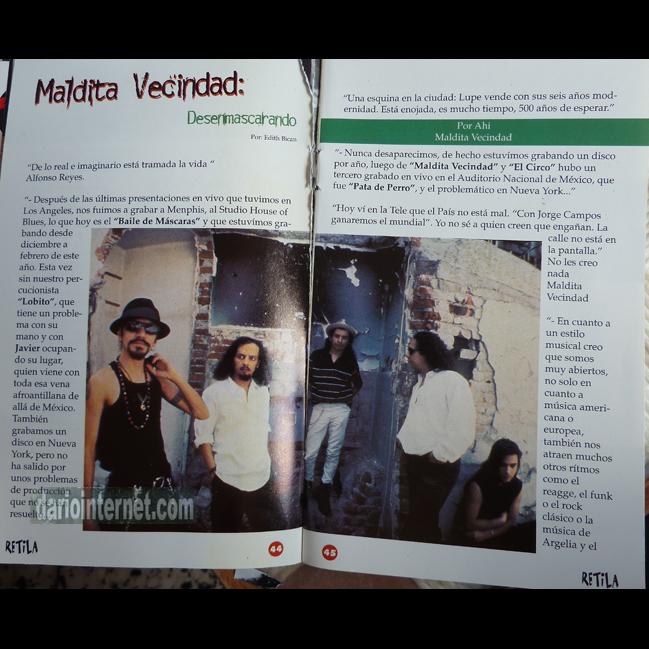 Maldita Vecindad - Retila Magazine