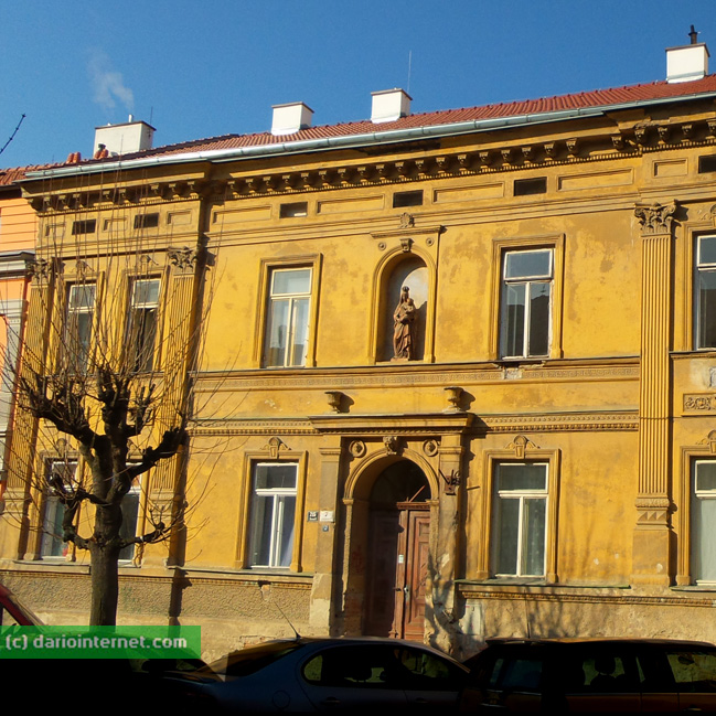 Brno turn of the 19th to 20th century building