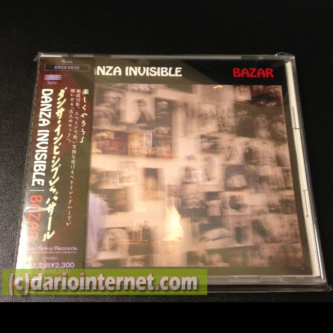 Japan Release - Danza Invisible 1991 CD