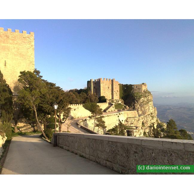 Erice Sicily Italy Castle 2009