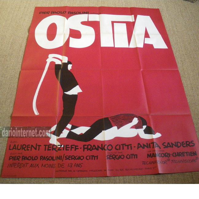 Ostia Poster  - Pier Paolo Pasolini
