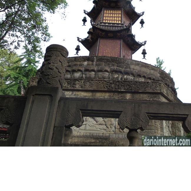 Wenshu Temple Monastery in Chengdu China