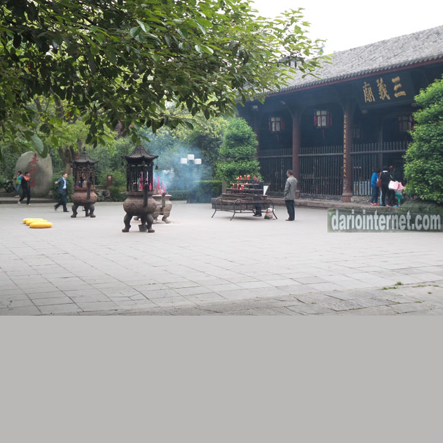 Chengdu in China - A travel photo