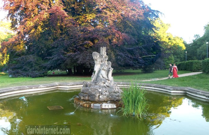 Park Luzanky in Brno
