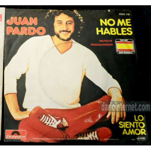 Deutsche Version - Juan Pardo - Schlager Single